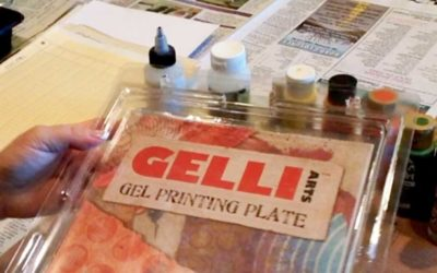 Gelli Plate Art for a Kit
