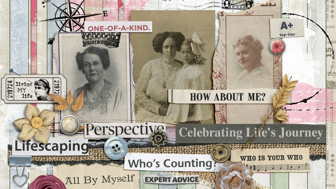 age is just a number digital scrapbooking kit