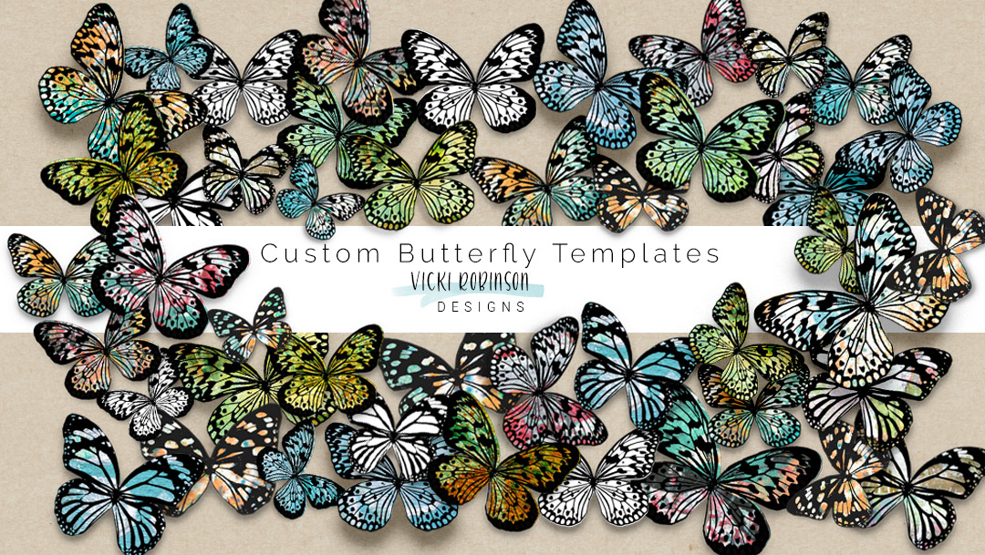 Custom Butterfly Layered Templates